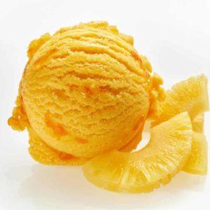 Ananas- Eiscreme