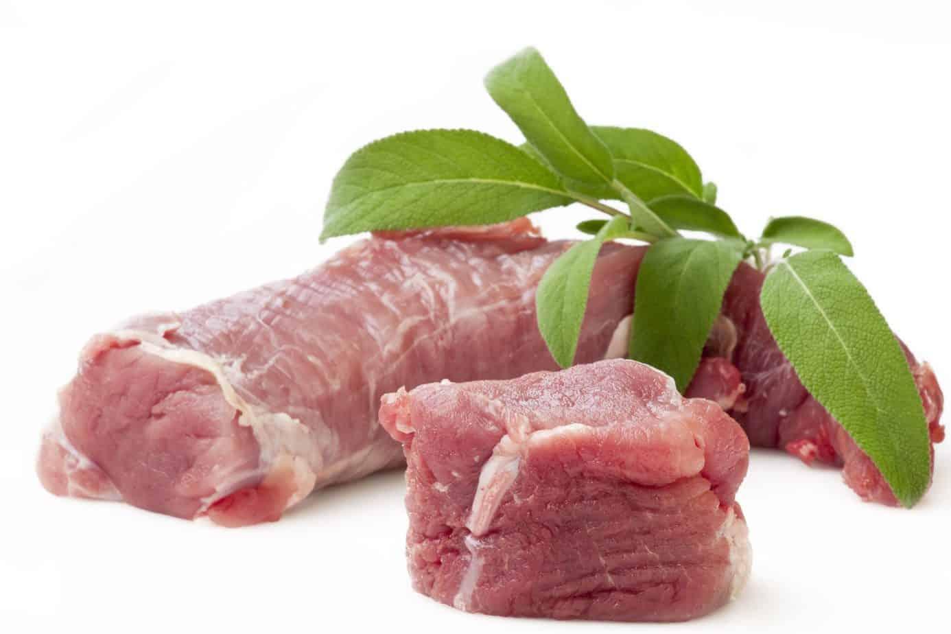 Schweinefiletköpfe