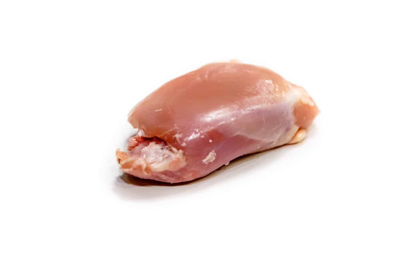 Hähnchenkeulenfleisch ohne Haut