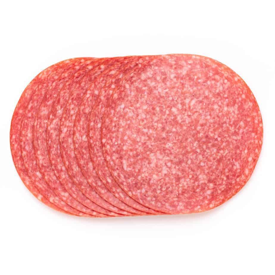 Holsteiner Salami in Scheiben Ø 80 mm