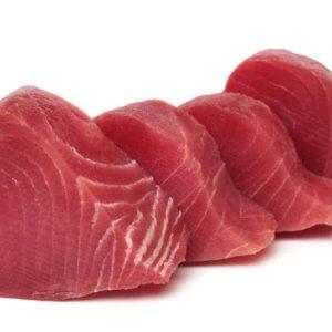 Thunfischfilet im Wasabituch