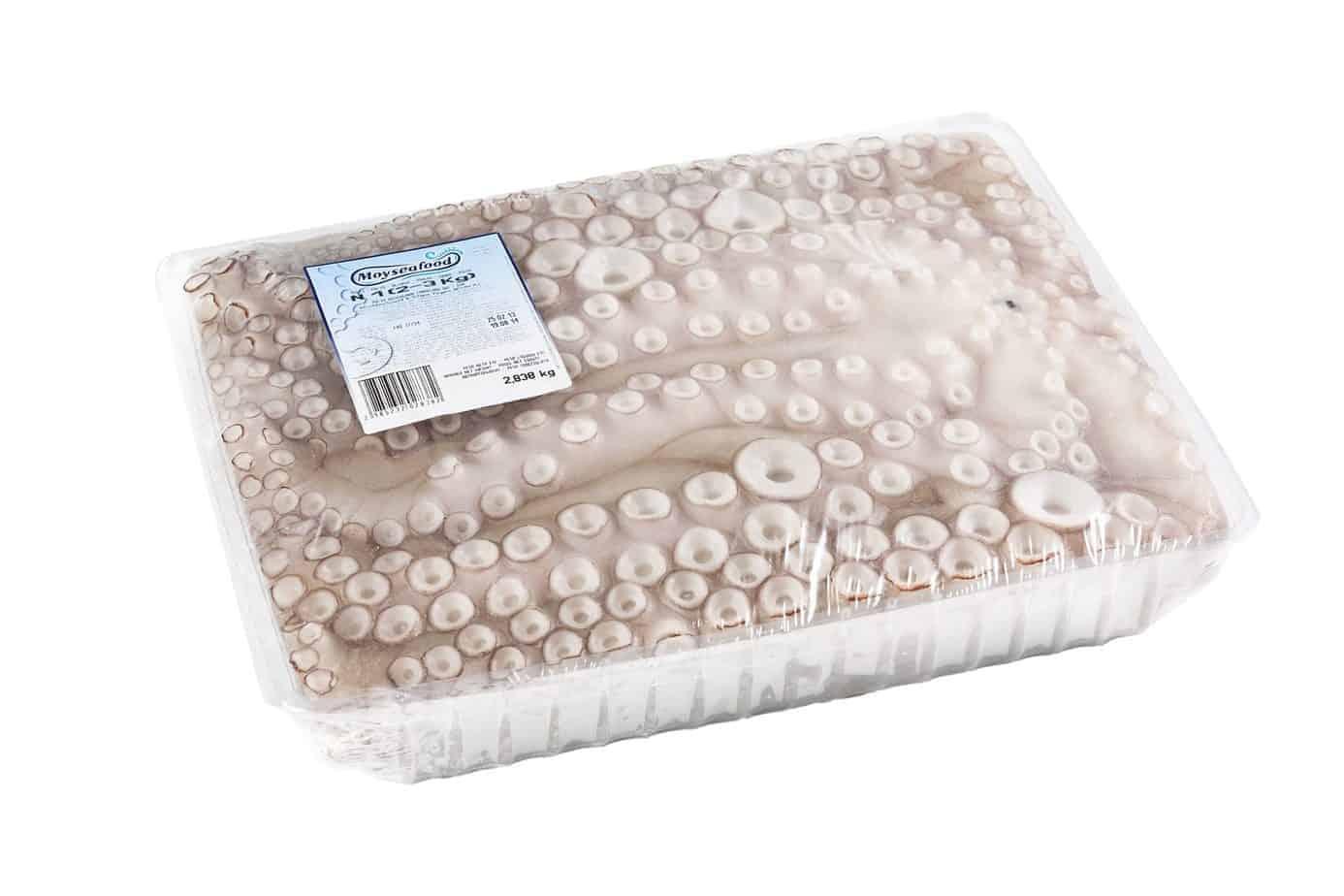 Pulpo Premium Schale 2- 3 kg