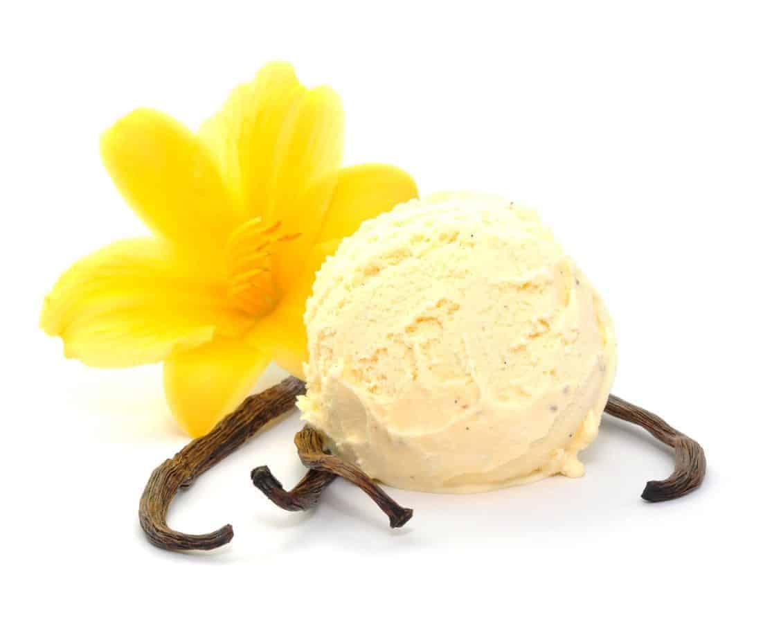Vanille- Eiscreme