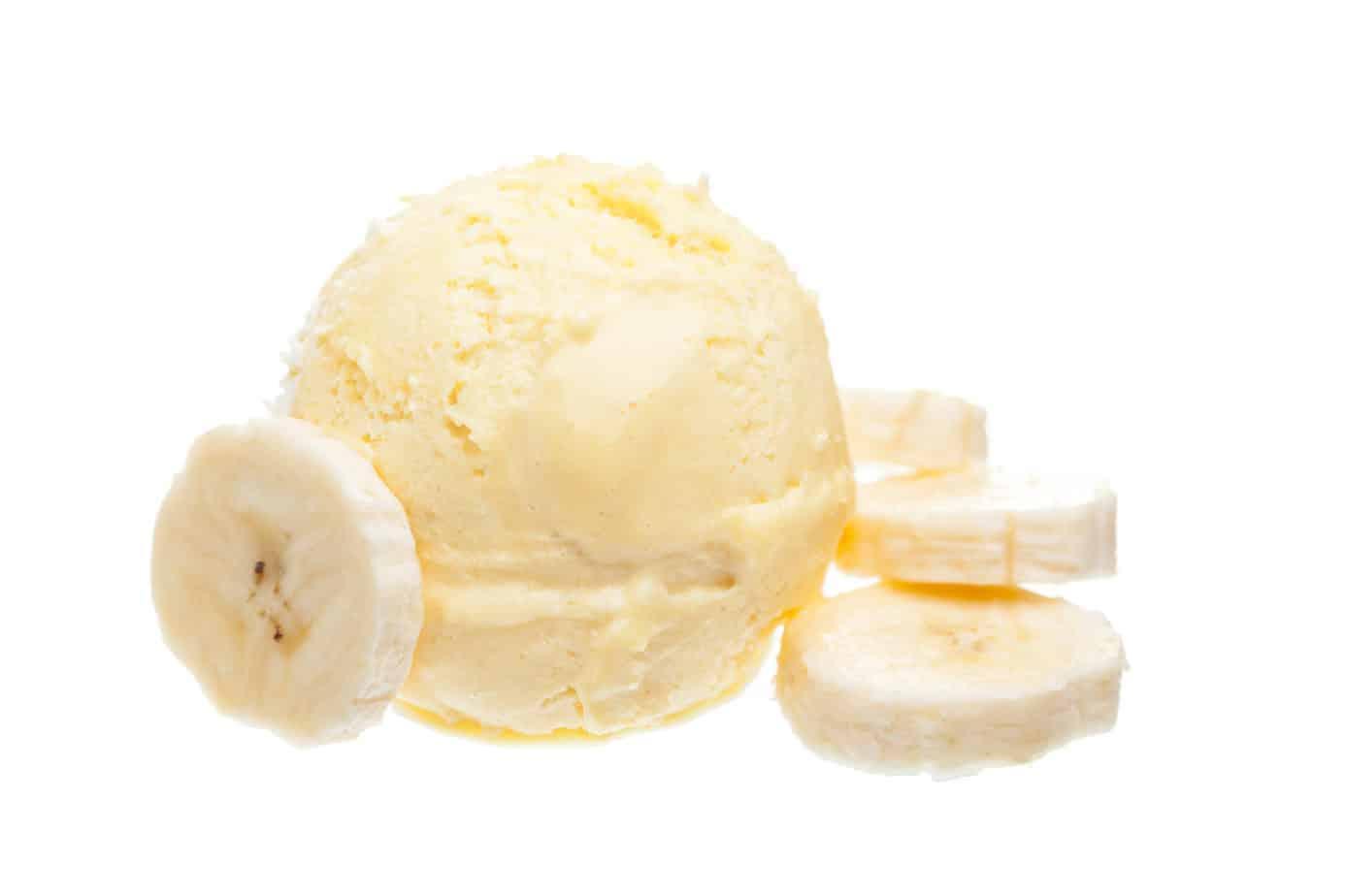 Bananen- Eiscreme