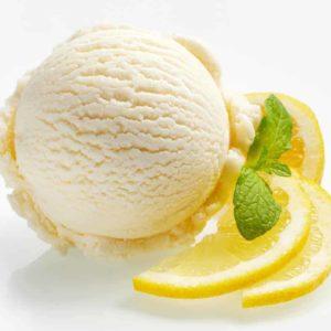 Zitronen- Eiscreme