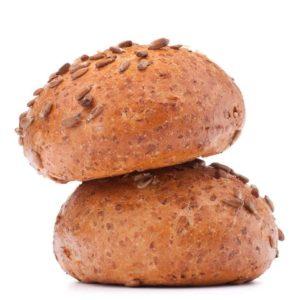 Hamburgerbrötchen Mehrkorn 105 mm